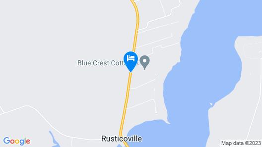 Blue Crest Cottages Map