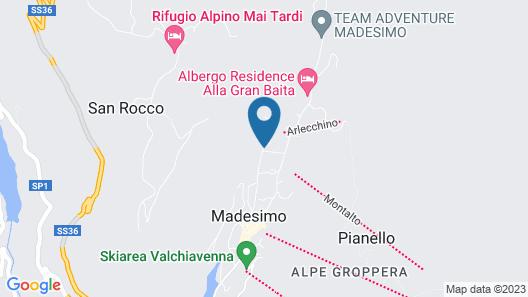 Hotel Andossi Map