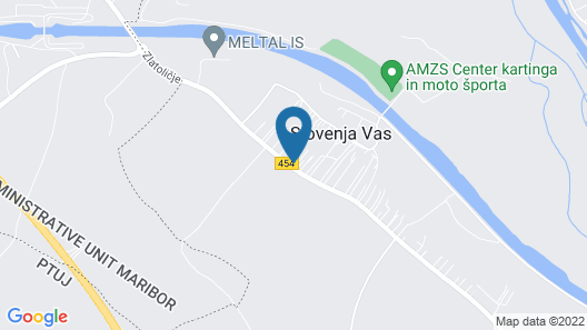 Guesthouse Čelan Map
