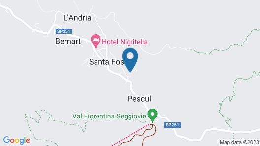Hotel Mondeval Map