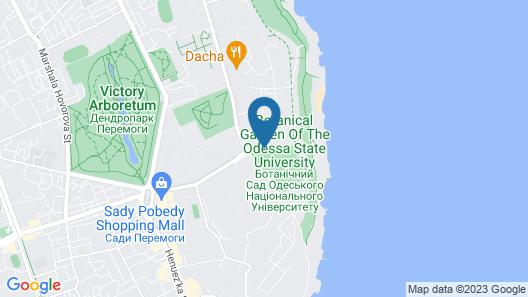 Apart hotel Greenwood near Sea Map
