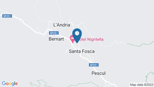 Mini Apartment Dolomites Map