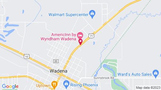 AmericInn by Wyndham Wadena Map