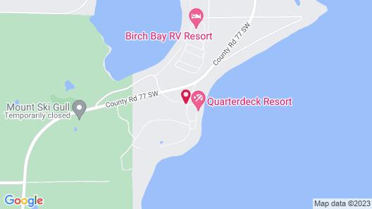 Quarterdeck Resort & Restaurant Map