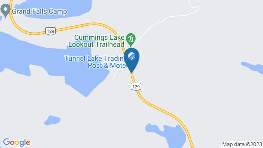 Tunnel Lake Trading Post & Motel Map