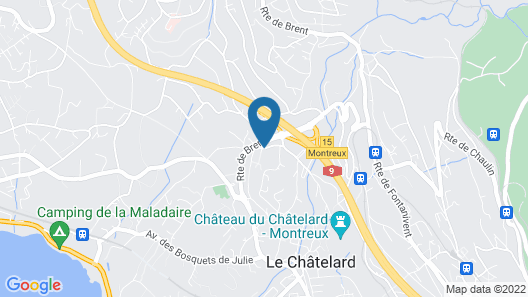 Hotel de Chailly Map