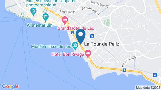 Hotel De La Vieille Tour Map