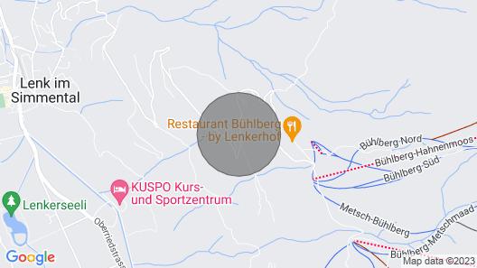Bergloft Lenk Apartment EG 1 Map