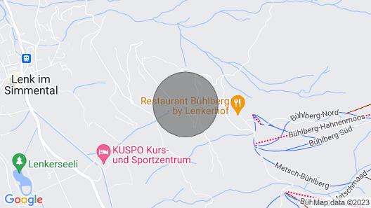 Apartment Ferienhaus Datscha in Lenk - 7 Persons, 3 Bedrooms Map