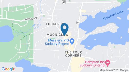 Holiday Inn Sudbury, an IHG Hotel Map