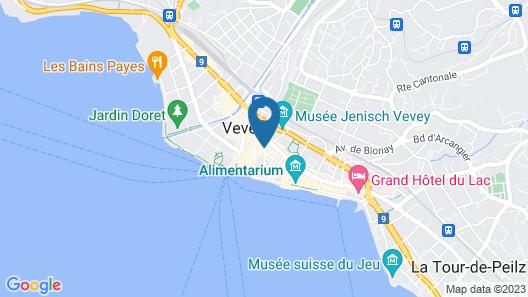 Hotel Restaurant Les Négociants Map