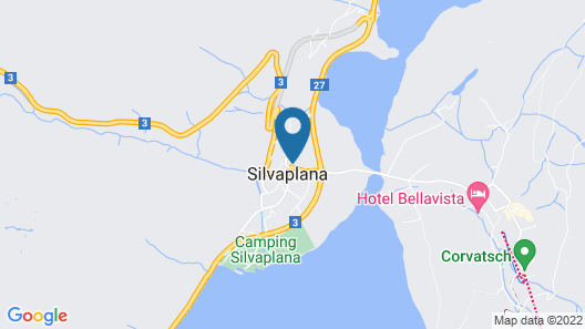 Arsa Lodge Silvaplana Map