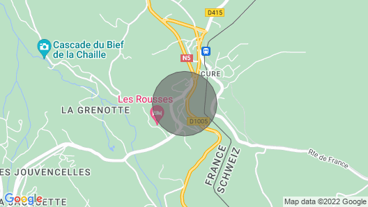 CHALET APARTMENT - LES ROUSSES Map