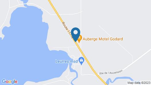 Auberge Motel Godard Map