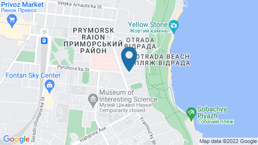 Hotel Grand Otrada Map