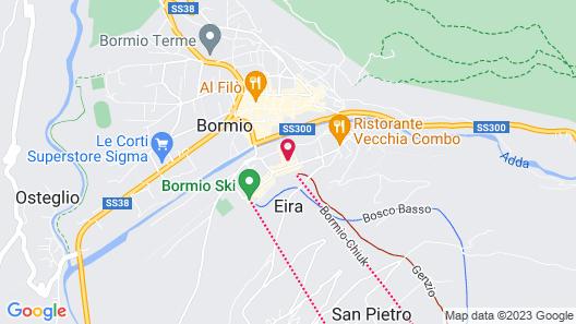 Olimpia Hotel Map