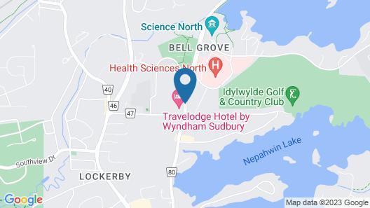 Travelodge by Wyndham Sudbury Map