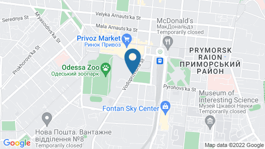 Tokyo Star Hotel Map