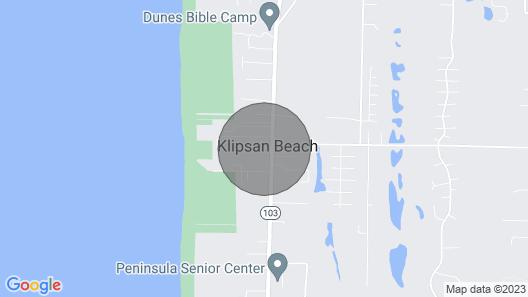 Klipsan Beach Cottages Map