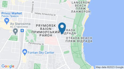 Hotel Otrada Map