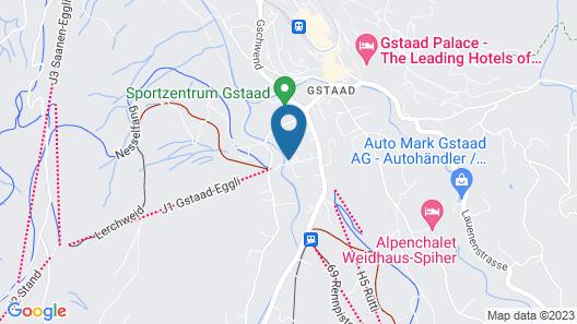 Arc-en-Ciel Gstaad Map