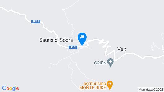 Hotel Bivera Sauris  Map