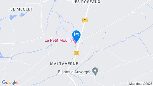 Domaine  Le Petit Moulin Map