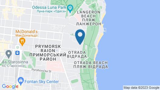 La Gioconda Boutique Hotel Map