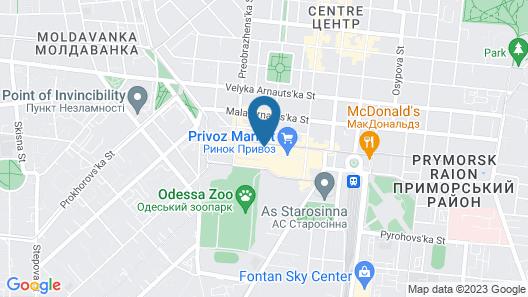 Chernoye More Privoz Map