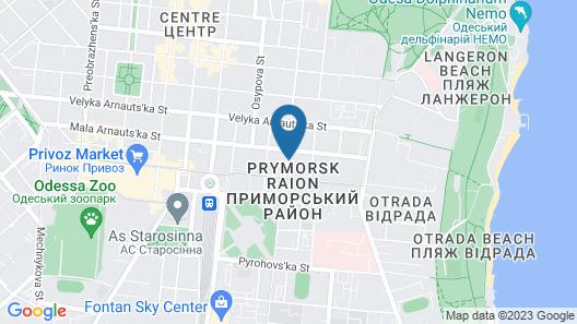 Hostel N1 Map
