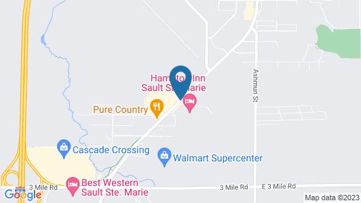 Hampton Inn Sault Ste Marie Map