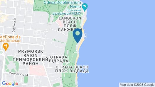 Brigantina Hotel Map