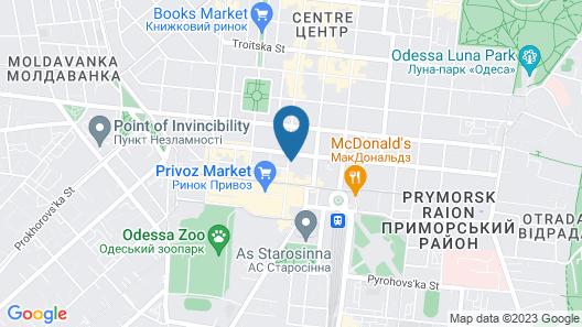 Good Night Hotel Map
