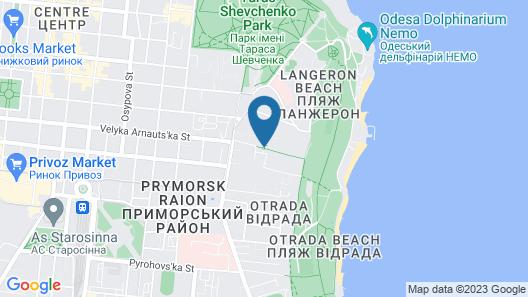 Hotel Lermontovskiy Map