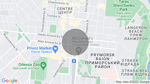 Light Gray Apartments Map