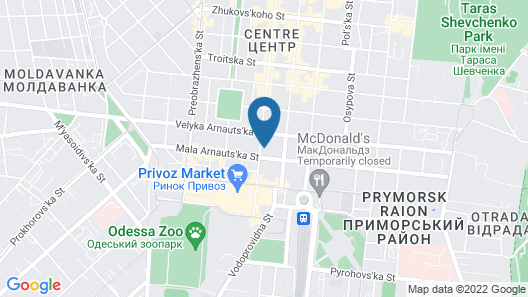 Hotel  Flat 5678 Map