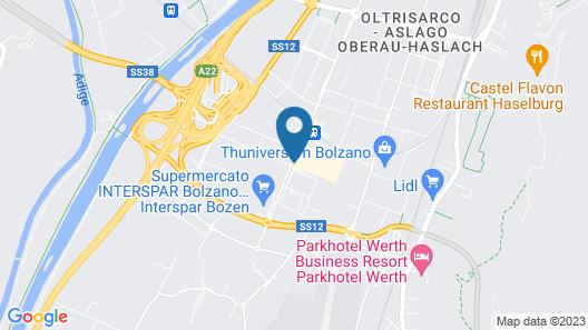 Four Points by Sheraton Bolzano Map