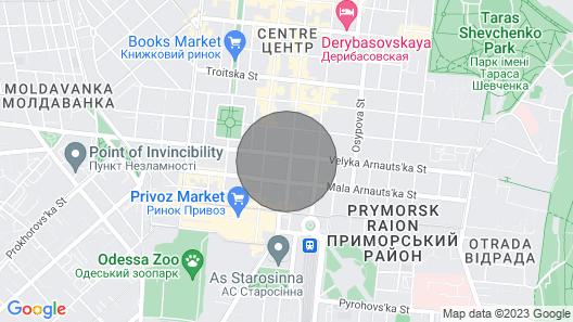 Уютная квартира в центре Одессы Map