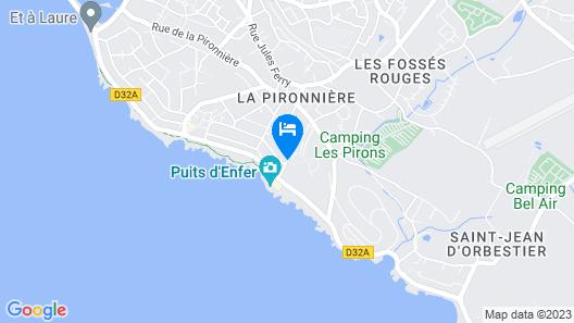 Résidence Lagrange Vacances L'Estran Map