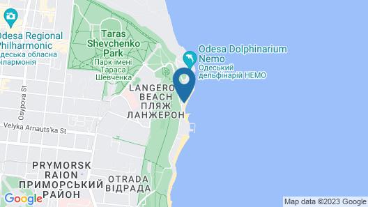 Design - hotel Skopeli Map