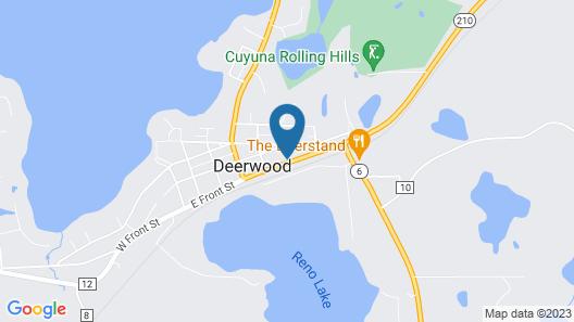 Country Inn Deerwood Map