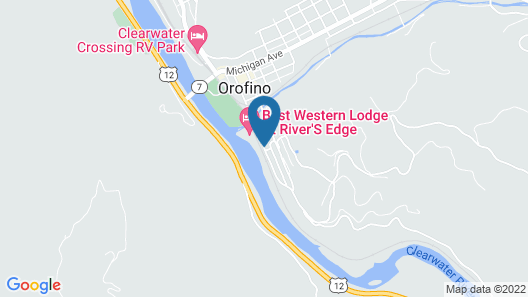 Best Western Lodge At River's Edge Map