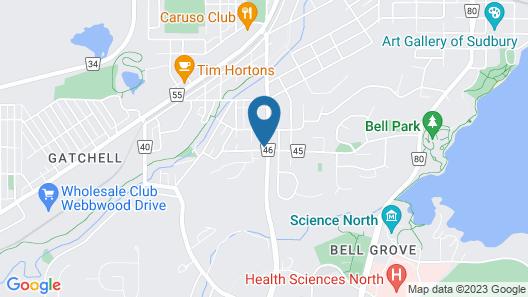 Belmont inn Map