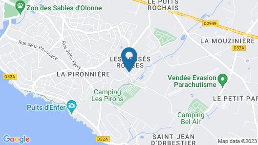 Oasis parcs - Jardins des Sables d'Olonne Map