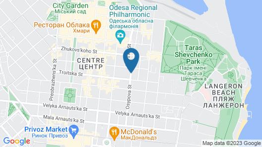 Geneva Park Hotel Map