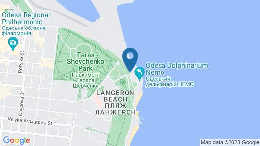 M1 club hotel Map