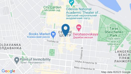 California Boutique Hotel Map