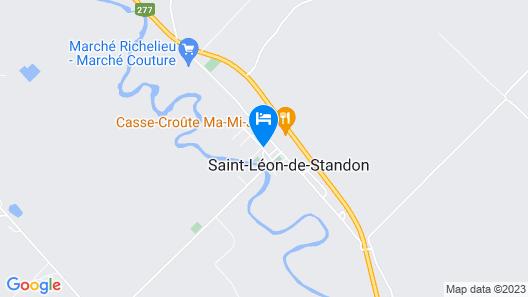 Au Vieux Presbytère de Saint-Léon Map