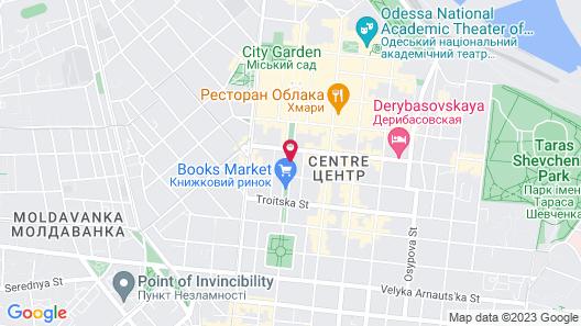 Aleksandrovskiy Hotel Map
