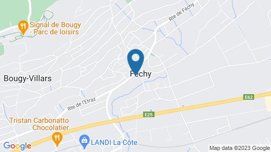 Chateau de Fechy Map